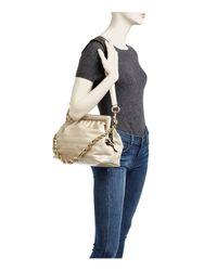 Marc Jacobs - Metallic Swinger Leather Shoulder Bag - Lyst