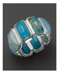 Ippolita | Sterling Silver Rock Candy Brick Ring In Blue Multi | Lyst