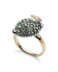 Alexis Bittar - Metallic Crystal Encrusted Ring - Lyst