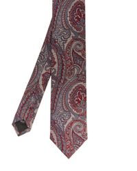 Ted Baker - Pink Cipo Paisley Skinny Tie for Men - Lyst