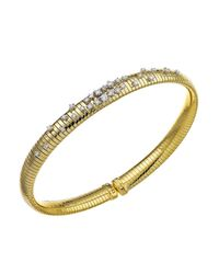 Chimento - Metallic Stardust Collection 18k Yellow Gold Bracelet With Diamonds - Lyst