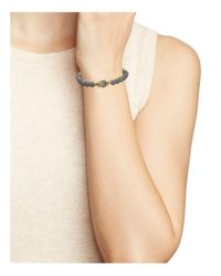 Chan Luu - Metallic Beaded Stretch Bracelet - Lyst