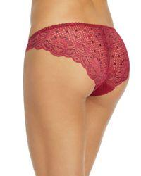Heidi Klum - Red Tempting Lily Bikini - Lyst