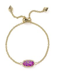 Kendra Scott   Metallic Elaina Kyocera Opal Bracelet   Lyst
