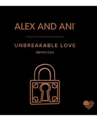 ALEX AND ANI - Metallic Unbreakable Love Expandable Wire Bangle - Lyst