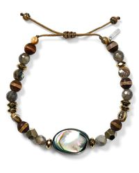 Chan Luu - Multicolor Adjustable Beaded Bracelet - Lyst