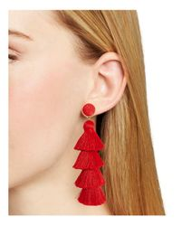 BaubleBar - Gabriela Tiered Tassel Earrings - Lyst