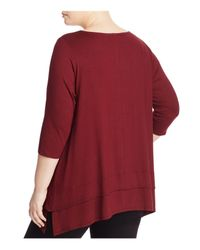 Eileen Fisher - Tiered Hem Tunic - Lyst