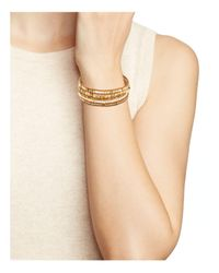 Chan Luu - Natural Mix Leather Bracelet - Lyst