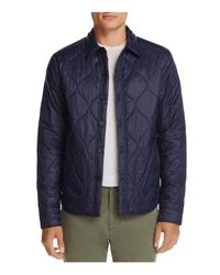 Michael Bastian - Blue Nylon Shirt Jacket for Men - Lyst