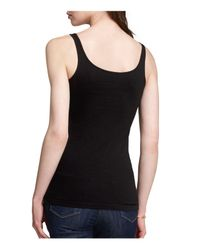 Eileen Fisher | Black System Scoop Neck Tank | Lyst