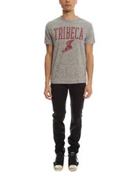 Todd Snyder - Gray Tribecca Graphic Tee Shirt for Men - Lyst