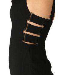 Zimmermann - Black Stretch Crepe Buckle Jumpsuit - Lyst