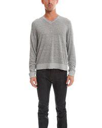 Rag & Bone - Gray Harding V-neck Sweater - for Men - Lyst