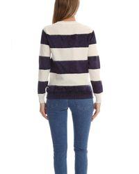 A.P.C. - Blue Ellie Eponge Marine Sweater - Lyst