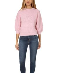 3.1 Phillip Lim - Pink Mohair Sweater - Lyst