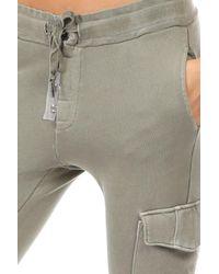 NSF - Gray Minji Cargo Sweatpants - Lyst