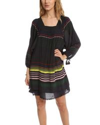 Apiece Apart - Black Sayulita Square Neck Dress - Lyst