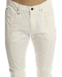 Ones Stroke - Natural One Stroke Super Stretch Skinny Pant White for Men - Lyst