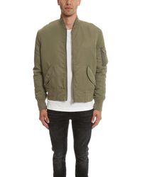 IRO - Green Sigvald Bomber Jacket for Men - Lyst