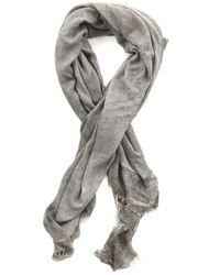 Faliero Sarti   Gray Chiarina Cashmere-silk Blend Scarf   Lyst