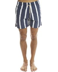 Solid & Striped | Blue The Classic Watermill Stripe for Men | Lyst