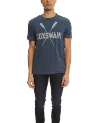 Todd Snyder - Blue Coxswain T-shirt for Men - Lyst