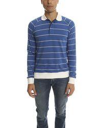 Trovata | Blue Ls Polo for Men | Lyst