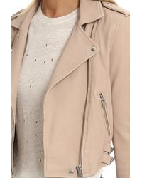 IRO - Pink Ashville Jacket - Lyst