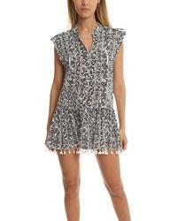Poupette - Black Heni Mini Dress - Lyst
