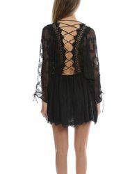Zimmermann - Black Alchemy Twine Dress - Lyst