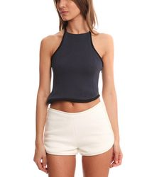 3.1 Phillip Lim - Black Silk Cord Crop Top - Lyst