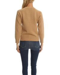 A.P.C. - Natural Edimbourg Sweater - Lyst