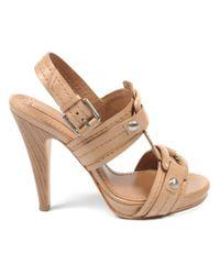 BCBGMAXAZRIA - Natural Max Azria Ladies Sandal - Lyst