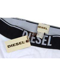 DIESEL - White Mens Boxer Trunk Umbx-dirck for Men - Lyst