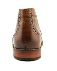 Florsheim - Brown Castellano Men Round Toe Leather Tan Chukka Boot for Men - Lyst