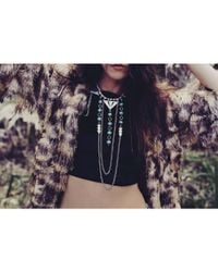 Love Leather - Multicolor Enchanted Princess Necklace - Lyst