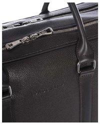 Longchamp - Men's Black Leather Briefcase for Men - Lyst