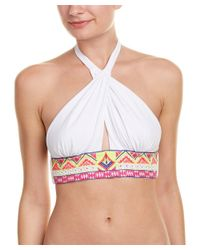 6 Shore Road By Pooja - Multicolor Cabana Bikini Top - Lyst