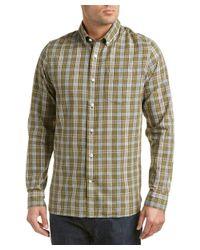 Victorinox | Green Swiss Army Mannliflue Linen-blend Woven Shirt for Men | Lyst