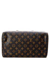 Louis Vuitton - Brown Limited Edition Black Mirage Monogram Canvas Speedy 30 - Lyst