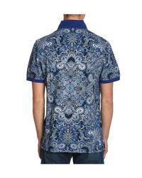 Etro - Men's Blue Cotton Shirt for Men - Lyst