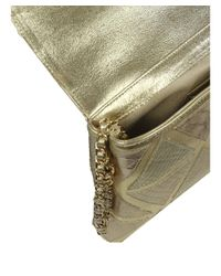 Cashhimi - Metallic Python Hancock Clutch/shoulder Bag - Lyst