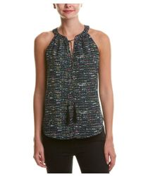 Cooper & Ella - Black Do Not Use Cooper & Ella Printed Blouse - Lyst