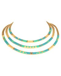 House of Harlow 1960 - Blue Nelli Statement Necklace - Lyst
