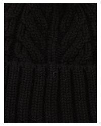 Ugg - Women's Black Wool Hat - Lyst
