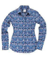 The Shirt by Rochelle Behrens - The Icon Shirt In Shades Of Blue - Lyst