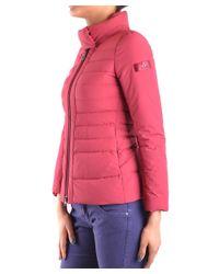 Peuterey - Red Women's Burgundy Polyamide Down Jacket - Lyst