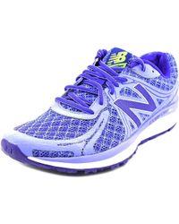 New Balance - Purple W720 Women Round Toe Synthetic Running Shoe - Lyst