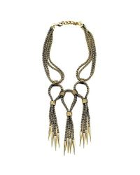 Nicole Romano - Metallic Riccio Necklace - Lyst